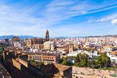 Malaga cityscape, Andalusia, Spain. — Stock Photo