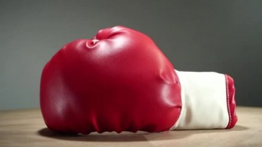 Boxing gloves — Stock Video