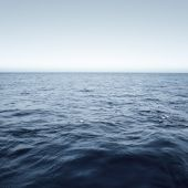 Blue sea surface — Stock Photo