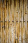 Old bamboo fence background and texture — Stock Photo