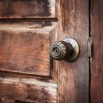 Close up classic handle door vintage — Stock Photo #73253801