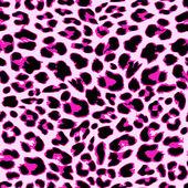 Leopard seamless pattern design, vector background — Stock Vector