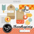 Set of vector autumn fall scrapbooking and web elements — Stock Vector #56313161