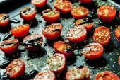 Baked cherry tomatoes — ストック写真