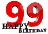Happy 99th Birthday — Stock Photo