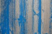 Old wooden shabby chic background with peeled or flaked color in — Stockfoto