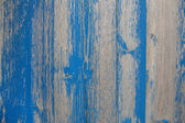 Old wooden shabby chic background with peeled or flaked color in — Stock Photo