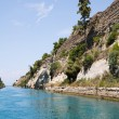 Постер, плакат: Coast of the Canal of Corinth in Greece