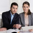 Successful young business people working in a team. — Stock Photo #54893307
