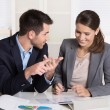 Successful young business people working in a team. — Stock Photo #54893853