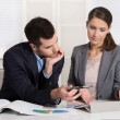 Successful young business people working in a team. — Stock Photo #54894595