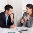 Successful young business people working in a team. — Stock Photo #54894759