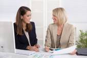 Team of successful businesswoman in the office. — Stock Photo