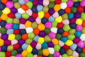Colorful felt background for creative items. — Stock Photo