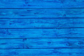 Blue wooden board for a background. — Stock Photo