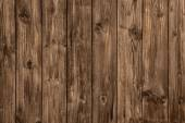 Old wooden brown board - nobody and empty. — Stock Photo
