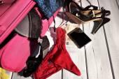 Weibliche Unterwäsche und Zubehör — Stockfoto