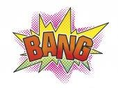 Bang — Stock Photo