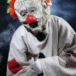 skrämmande monster clown — Stockfoto #56612533