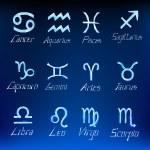 Christmas zodiac signs — Stock Vector #53840233