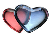 3d kalp — Stok fotoğraf