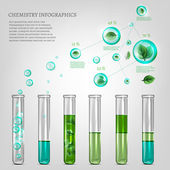 Science infographics — Stock Vector