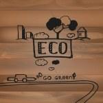 Ecology concept — Stock Vector #63746683