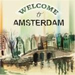 Amstredam graphic — Stock Vector #68137565