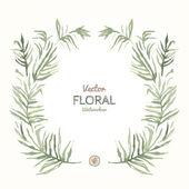 Floral Garland — Stockvector