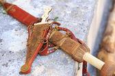кинжал и меч Римской империи — Стоковое фото