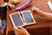 Wax tablet Roman Empire — Stock Photo
