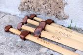 Wooden gladius (swords) — Stock Photo
