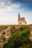 Old Roman Church in Drazovce, Slovakia — Foto Stock