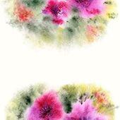 Fundo floral. — Vetor de Stock