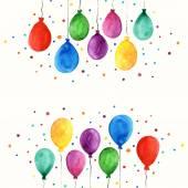 气球卡 — 图库矢量图片