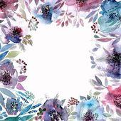 Květinové pozadí. — Stock vektor
