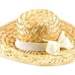 Handmade Hat form Straw and bamboo thailand souvenir — Stock Photo #61927421
