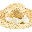 Handmade Hat form Straw and bamboo thailand souvenir — Stock Photo #61927435