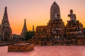 Description: Wat Chai Watthanaram, Ayutthaya Thailand — ストック写真
