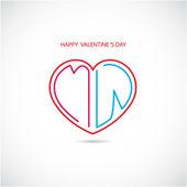 Happy valentine 's day background. — Stock Vector