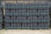 Stack curbs on pallet - construction — Foto de Stock
