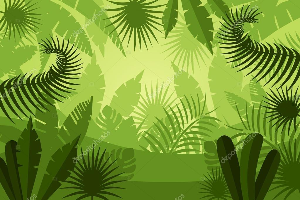 Fondo De Pantalla Selva: Fondo De Plantas De Selva