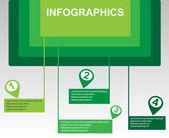 простая инфографика — Cтоковый вектор