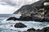 Cinque Terre Framura Coast — Stock Photo