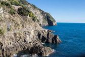 Cinque Terre Riomaggiore Coast — Stock Photo