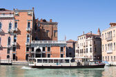 Venice, Italy - March 28,  2015: View of the Grand Canal in Veni — Stock Photo