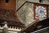 Antigua torre del reloj — Foto de Stock