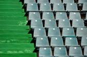 Sports arena seats — Stock Photo