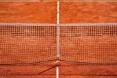 Tennis net detail — Stock Photo