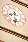 Church clock tower — ストック写真